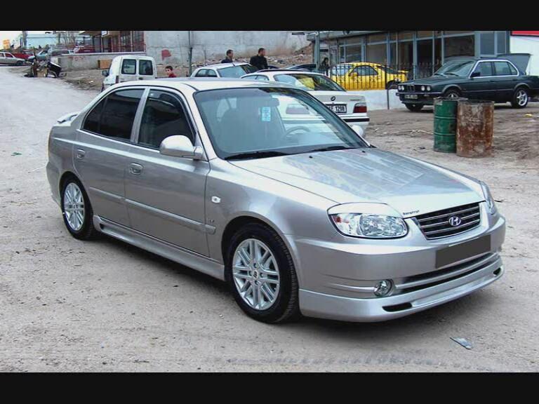 on 2000 Hyundai Accent