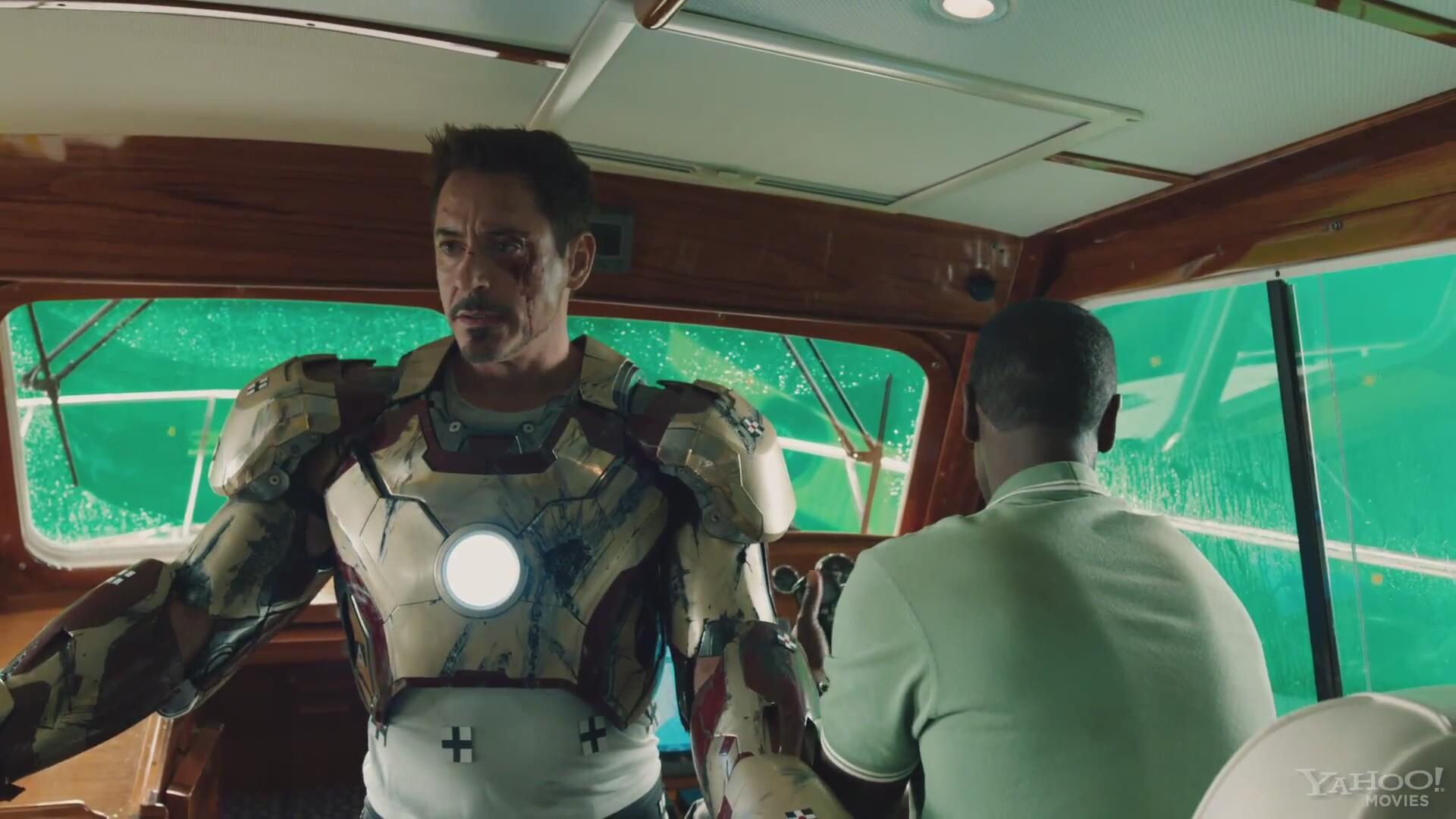 Iron Man 3 Komik Sahneler Izlesenecom
