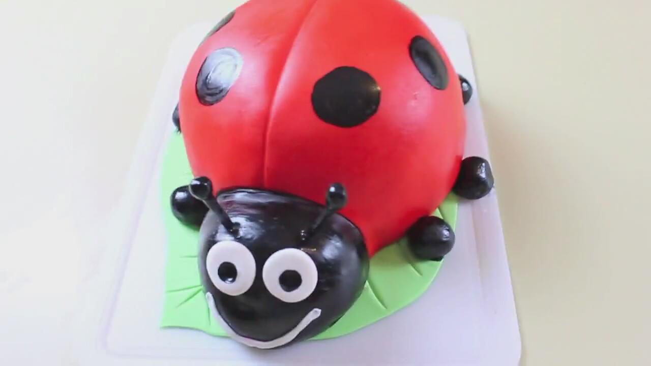 Uğur Böceği Pasta