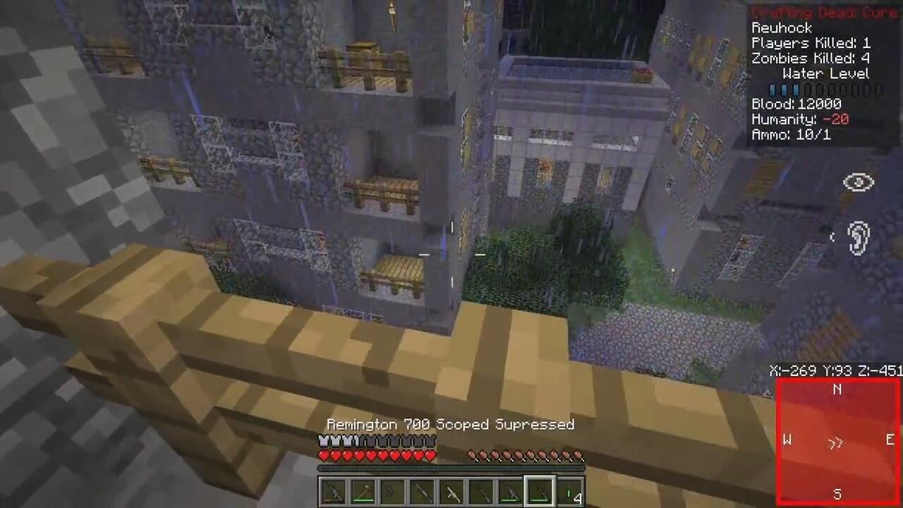 Minecraft server oyunlar 4 crafting dead for Minecraft crafting dead servers