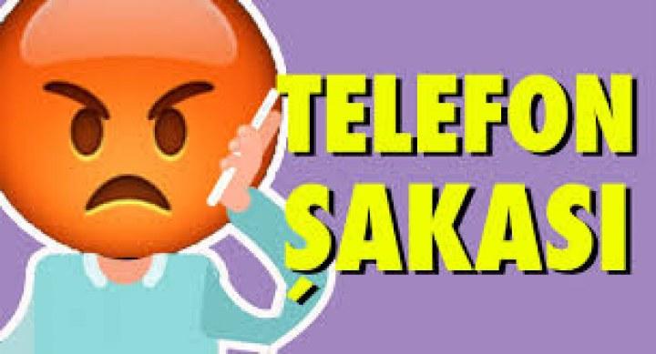 Komik Telefon Şakası
