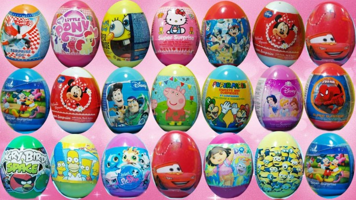 Sürpriz Yumurta Açma