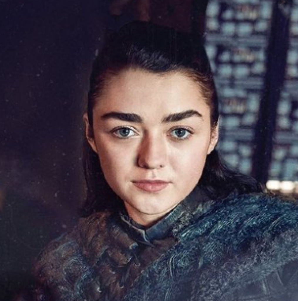 arya stark, maisie williams, game of thrones