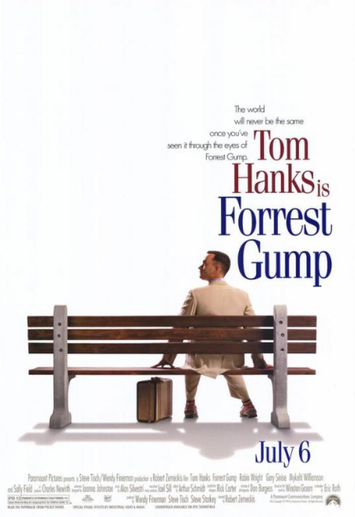 forrest gump, tom hanks, vietnam savaşı, watergate skandalı
