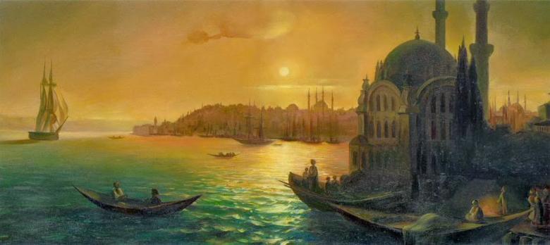 İvan Ayvazovski'nin İstanbul'a Olan Aşkını Anlatan Eserleri