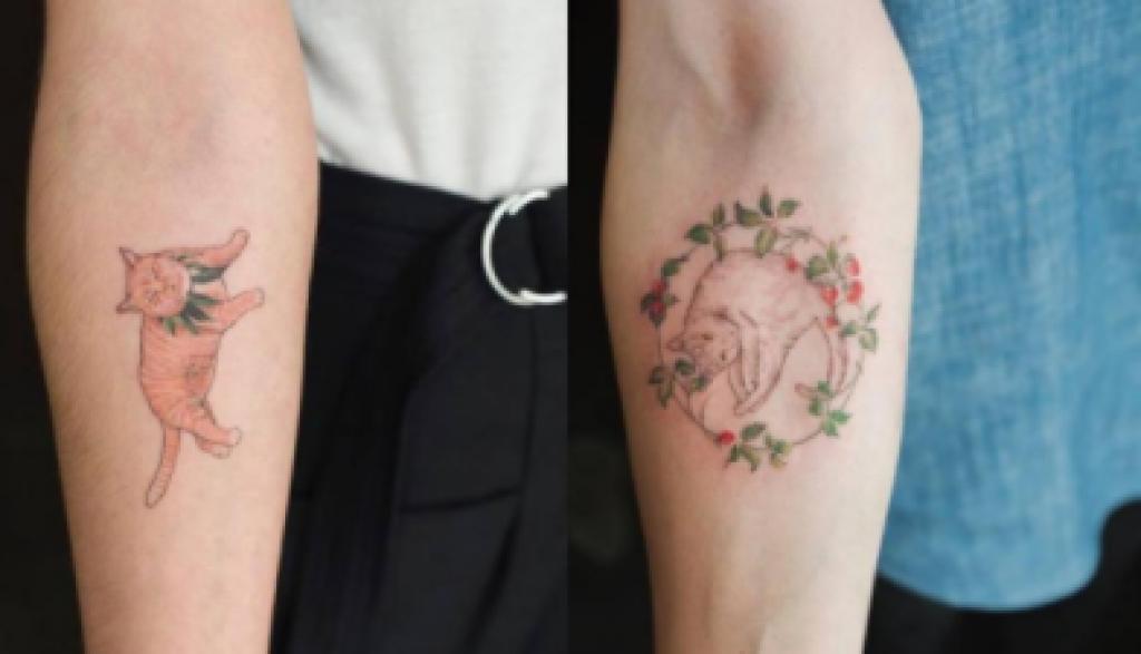 Pisicikli Dövmeler