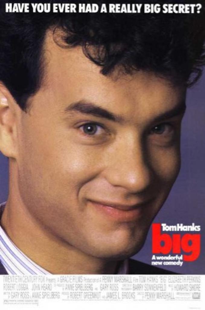 big, tom hanks, büyük