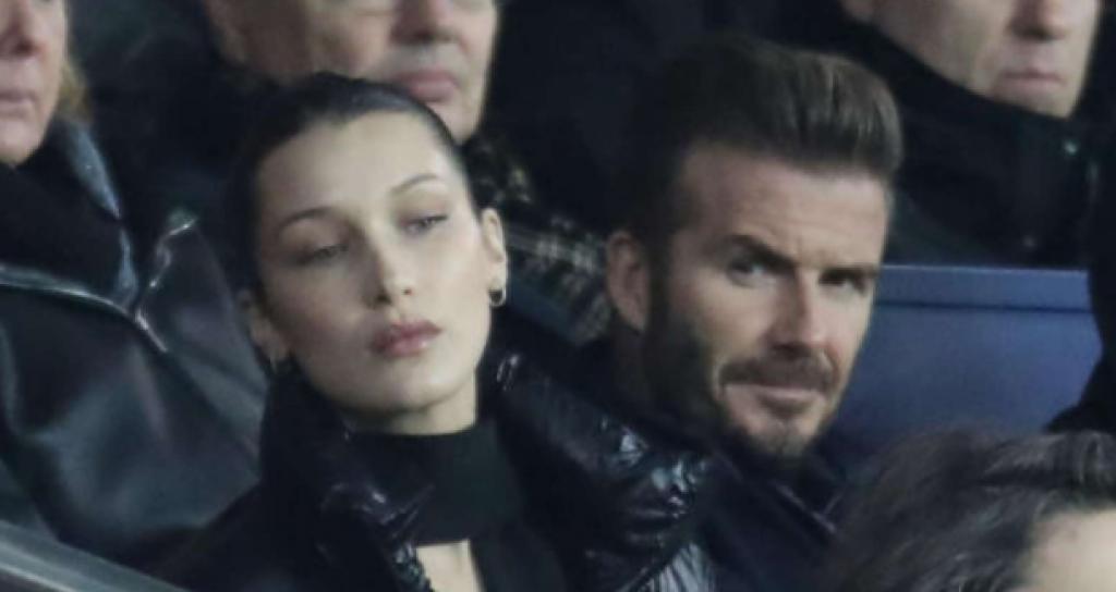 David Beckham'ın Bella Hadid'e Hayran Bakışları Olay Oldu!