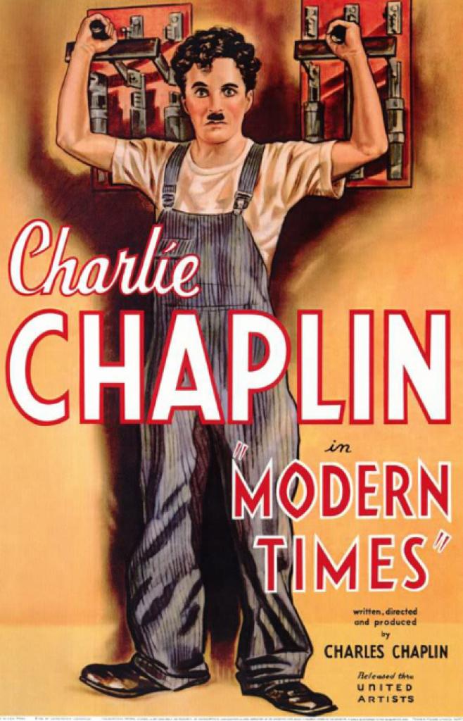 modern times, modern zamanlar, charlie chaplin