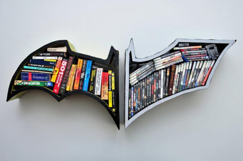 Sıradışı Tasarımlı Kitaplıklar