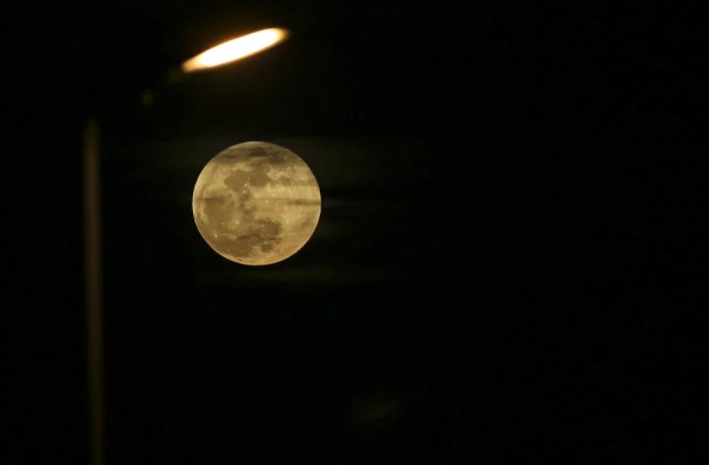 istanbul, Süper Kanlı Mavi Ay Tutulması