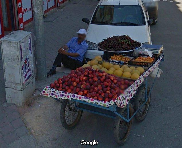 Google Streetview'e Yakalanan İlginç Türkiye Manzaraları