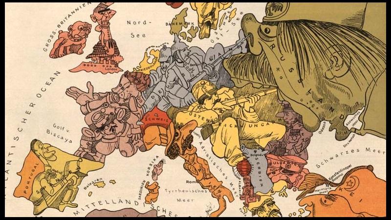 Birinci Dünya Savaşı'nın Propaganda Afişleri