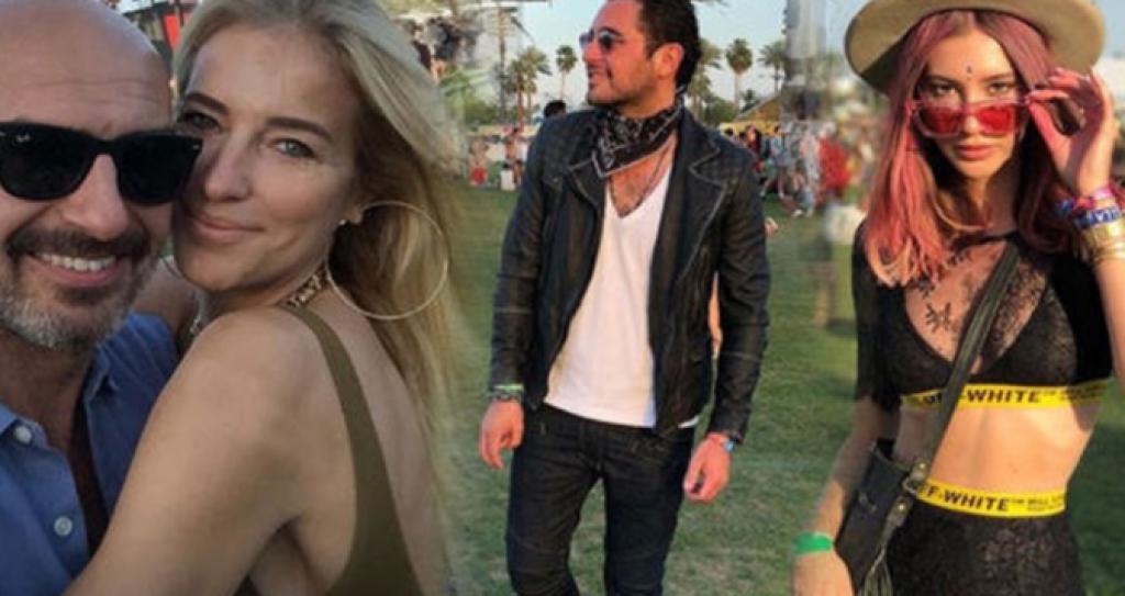 Coachella'ya Hangi Türk Ünlüler Gitti, Kim Ne Giydi?