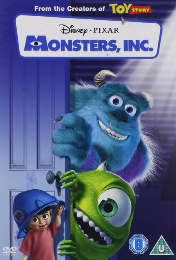 monsters inc, sevimli canavarlar, pixar, boo