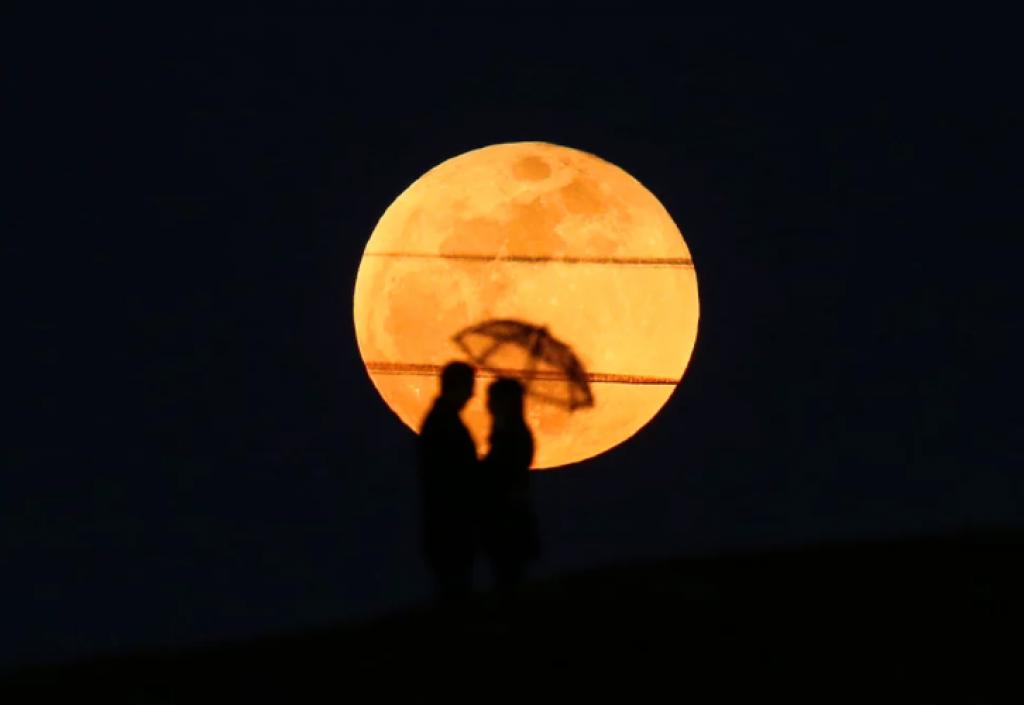 Süper Kanlı Mavi Ay Tutulması, kocaeli, türkiye