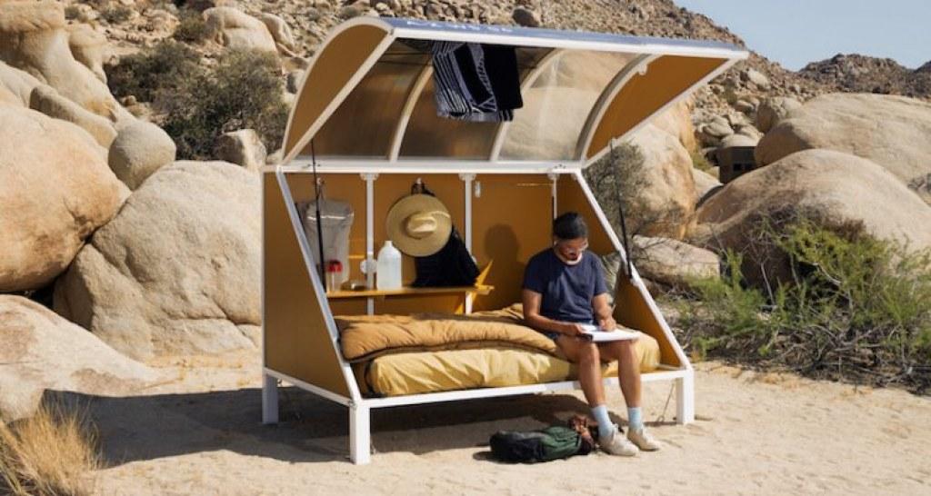 Hiçliğin Ortasında Bir Vagon Kampı