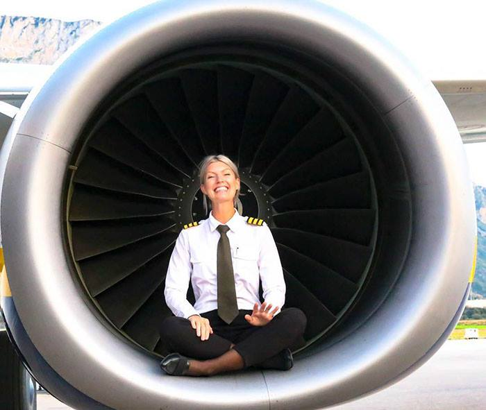 Instagram Fenomeni, Yogacı, Güzel Pilot Maria Pettersson
