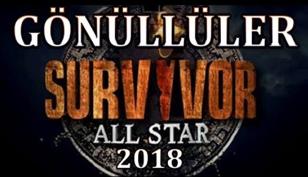 Survivor 2018 All Star Gönüllüler Kadrosu Da Tamam!