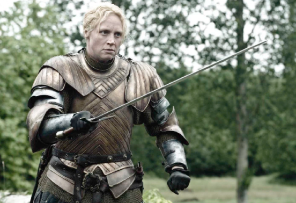 brienne of tarth, game of thrones