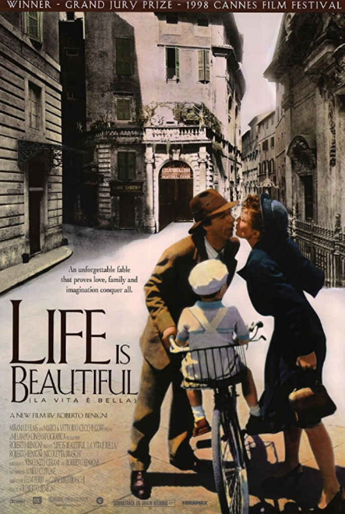 life is beautiful, la vita e bella, hayat güzeldir, roberto benigni, oscar