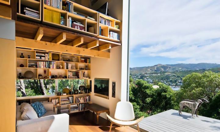 Yeni Zelanda Kıyılarında Yapılan Huzurun Eş Anlamlısı Ev