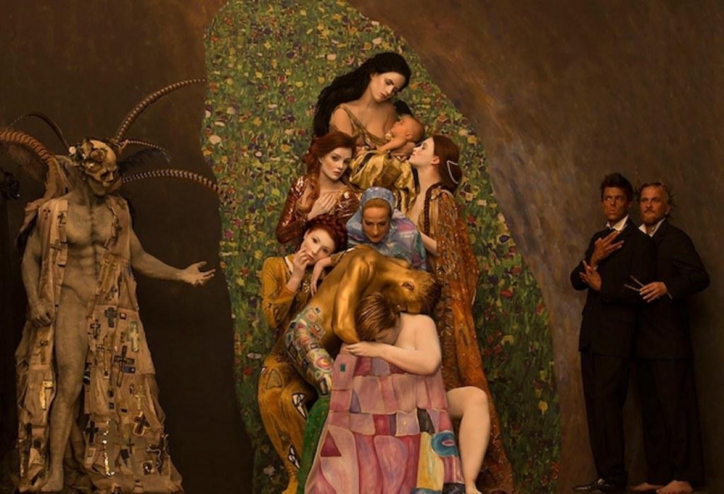 Gustav Klimt'in Altın Çağ Tabloları Gerçek Oldu