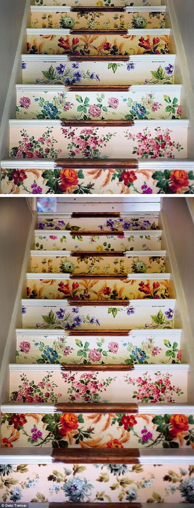 Yaratıcılığa Kafa Burun Dalmış Merdiven Tasarımları
