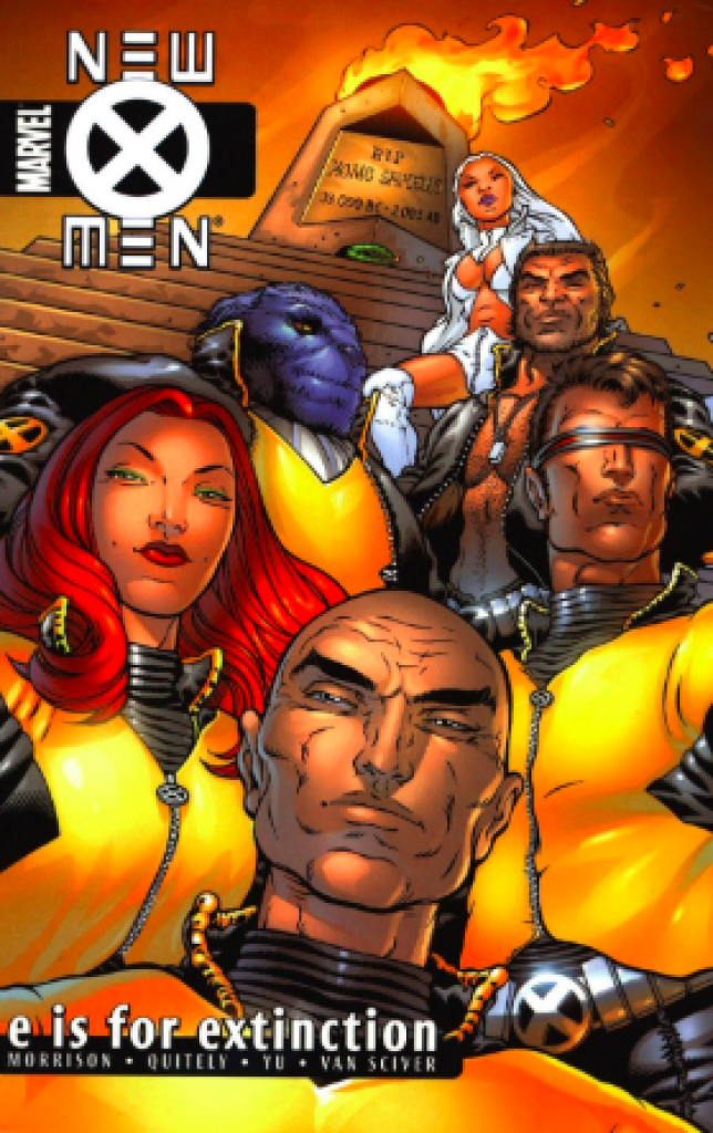 new x-men e is for extinction