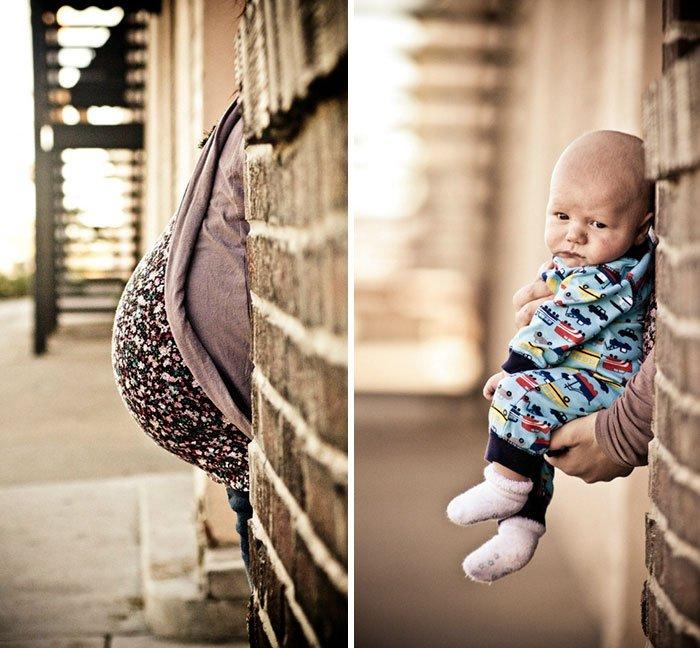 Doğum Öncesi ve Sonrası Çekilmiş Muhteşem Fotoğraflar