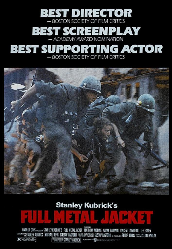 full metal jacket, stanley kubrick, vietnam savaşı
