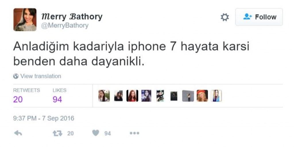 iPhone 7 Üzerine Atılmış Komik Tweetler