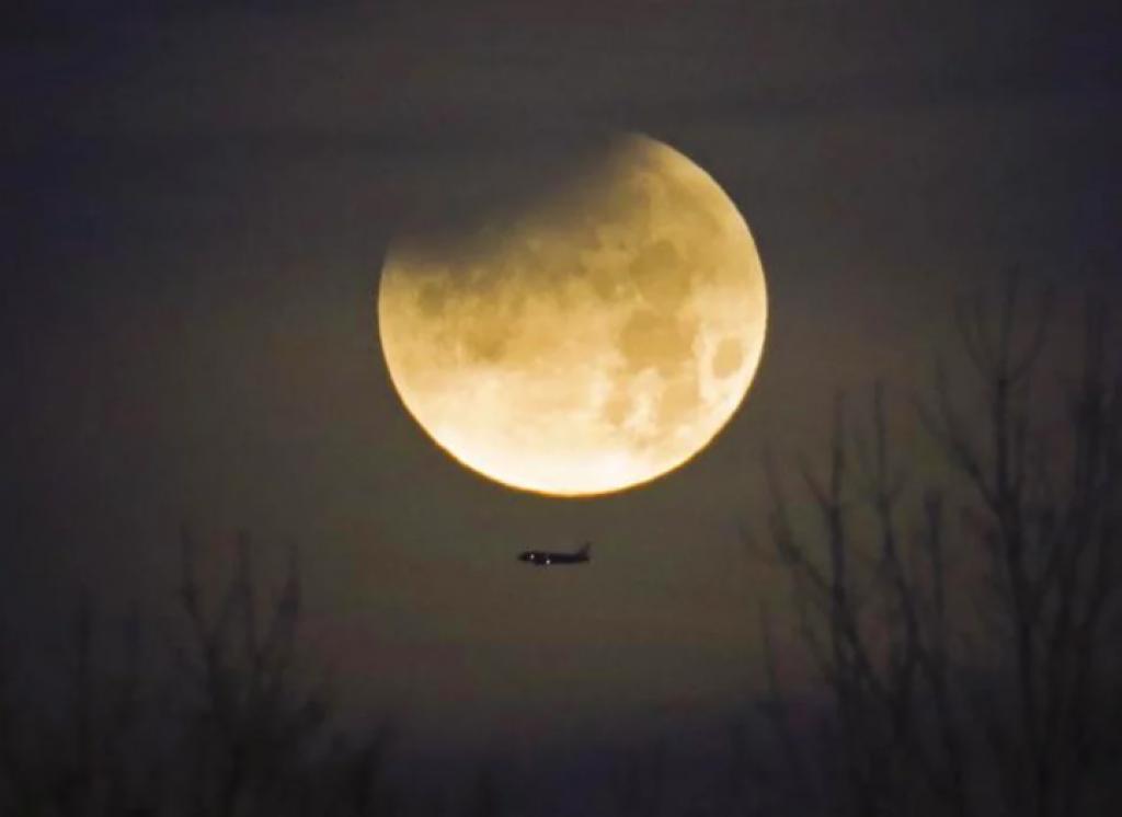 kuzey carolina, abd, Süper Kanlı Mavi Ay Tutulması