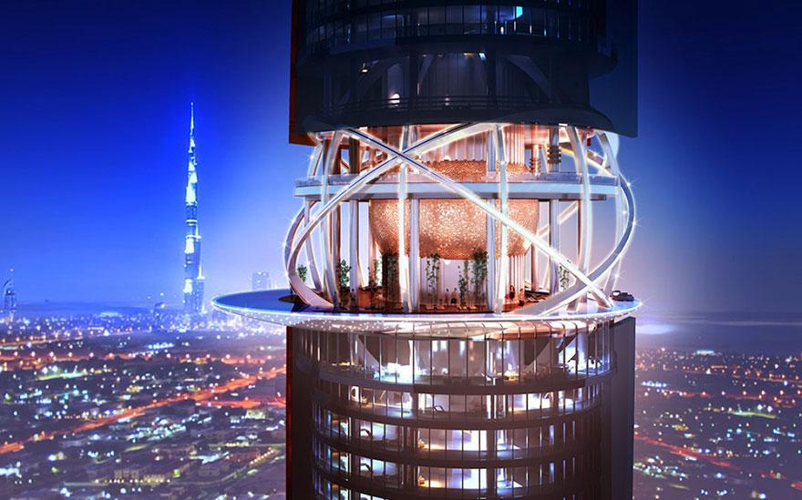 2018'de Açılacak İçinde Yağmur Ormanı Barındıran Dubai oteli