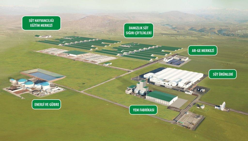 Sütün Bereketi Bingöl'e Hayat Veriyor: 1 Milyar 115 Milyon TL'lik Sütaş Yatırımı Kentin Kaderini Değiştiriyor