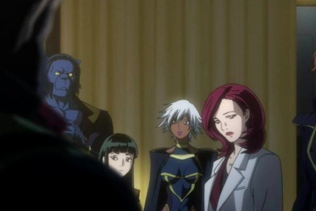 marvel anime x-men