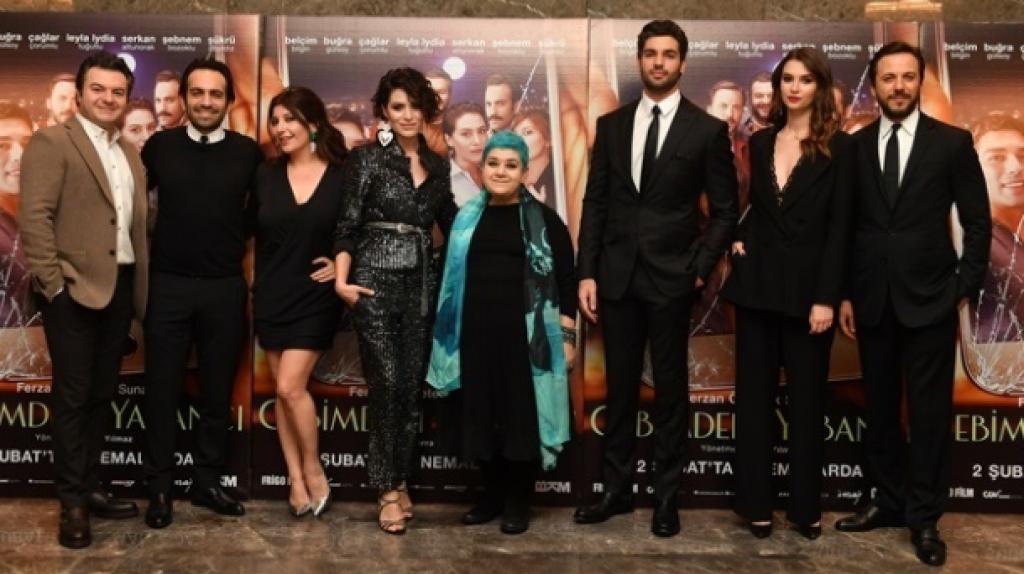'Cebimdeki Yabancı' Filminin Özel Gösteriminde Özel Konuklar
