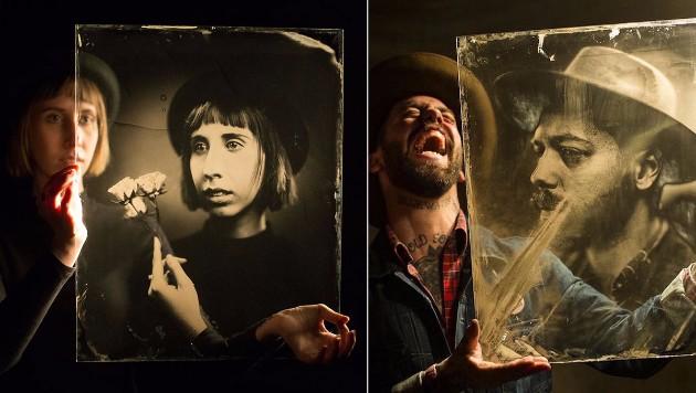 160 Yıllık Fotoğraf Makinesi ile Çekilmiş Karanlık Fotoğraflar