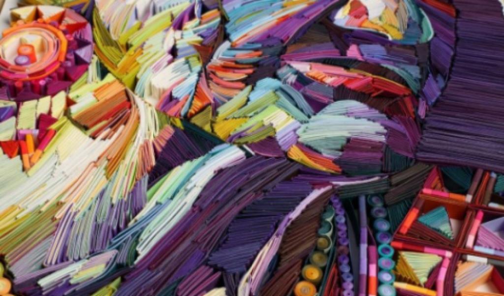 Kağıt Sanatıyla Harikalar Yaratan Yulia Brodskaya'nın 14 Portre Çalışması