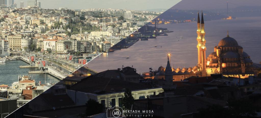 İstanbul'un Büyüsünü Gece ve Gündüzü Birleştirerek Fotoğraflayan Sanatçı