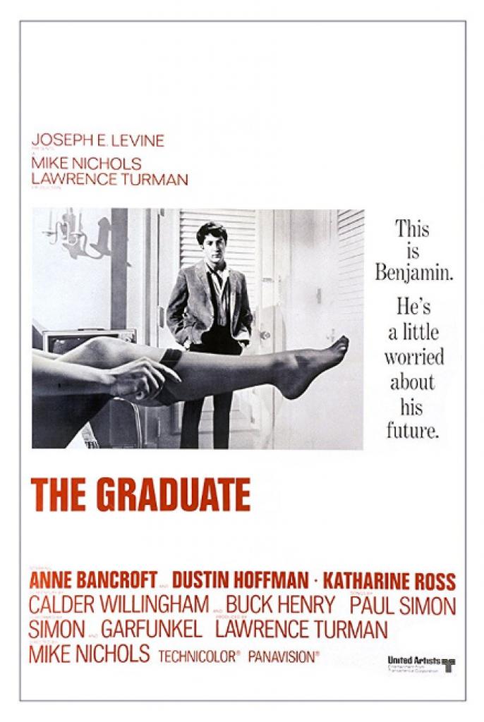 the graduate, mezun, dustin hoffman
