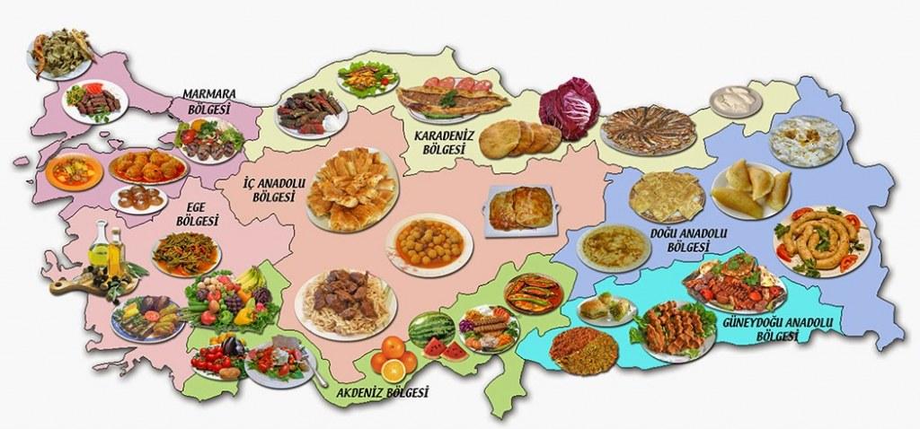 81 İlimizden Muhteşem Lezzetler ile Türkiye