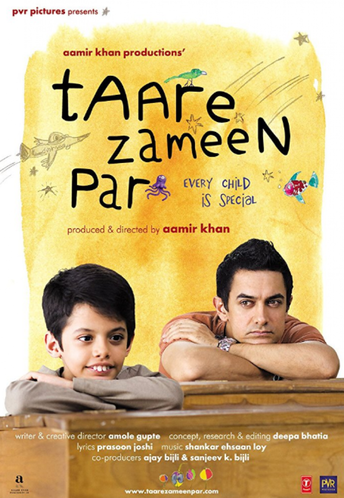 taare zameen par, her çocuk özeldir, aamir khan, hint filmi