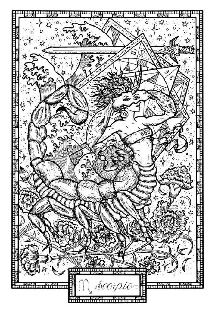 akrep, akrep burcu, astroloji, yıldız haritası