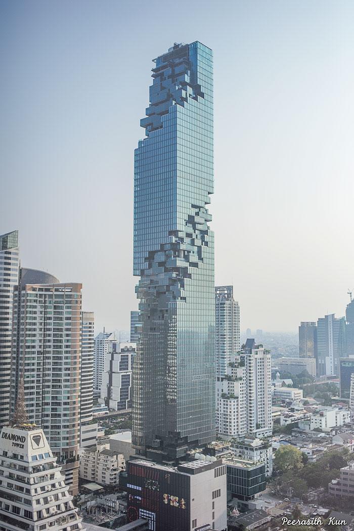 Tayland'ın Yeni Pikselden Hallice Gökdeleni