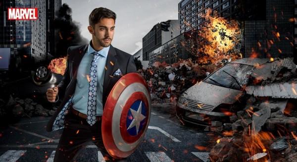 Süper Kahraman Konseptli Takım Elbiseler