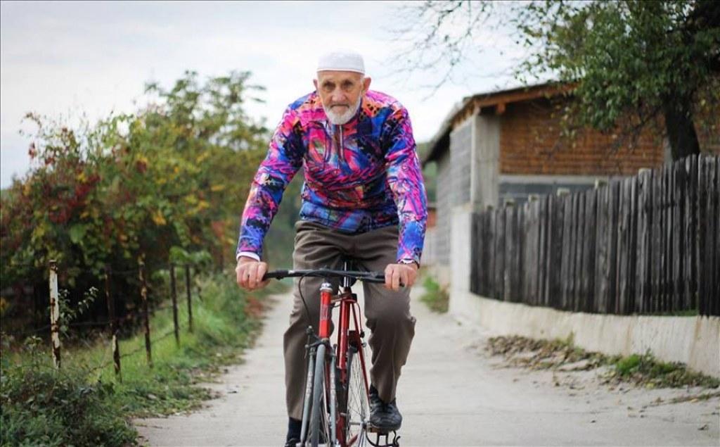 Günde 80 Km Bisiklet Süren, 79 Yaşındaki Mehmed Amca
