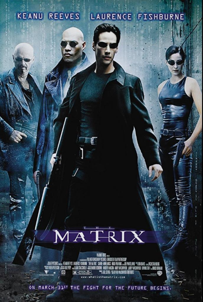 matrix, keanu reeves, laurence fishburne, neo, trinity
