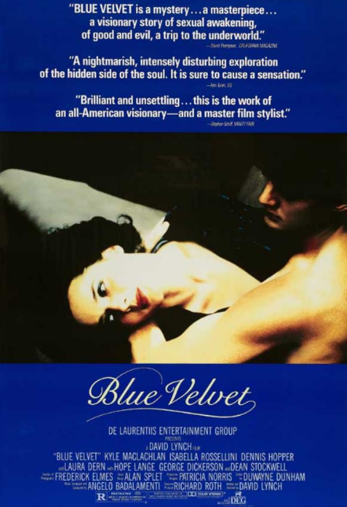 blue velvet, mavi kadife, david lynch