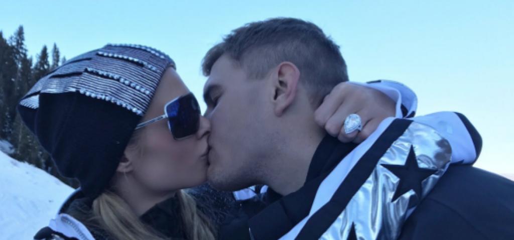 Eskilerin Parti Kızı Paris Hilton'a Karlar Üstünde Evlilik Teklifi
